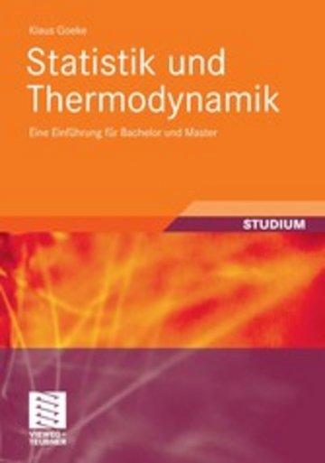 eBook Statistik und Thermodynamik Cover