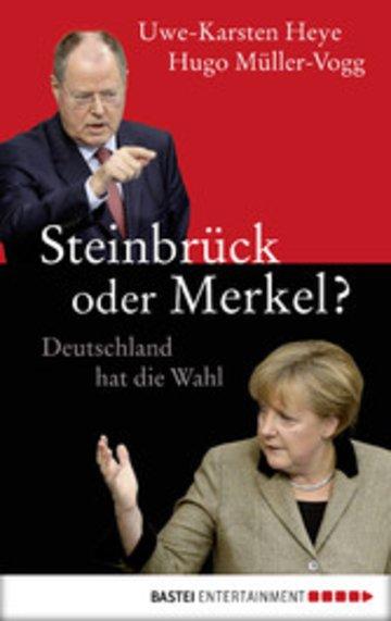 eBook Steinbrück oder Merkel? Cover