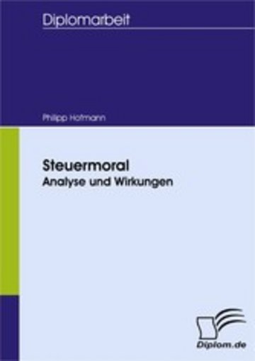eBook Steuermoral: Analyse und Wirkungen Cover