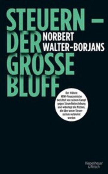 eBook Steuern - Der große Bluff Cover