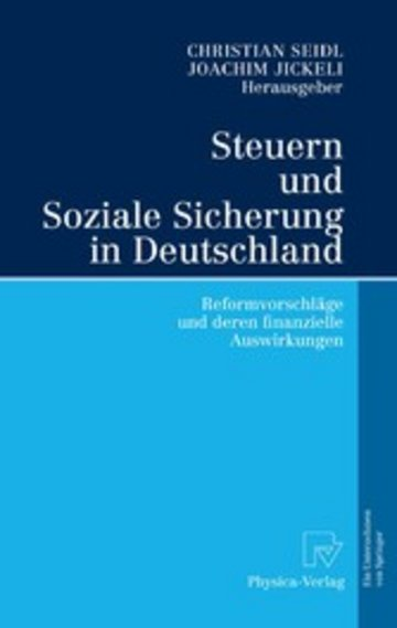 eBook Steuern und Soziale Sicherung in Deutschland Cover