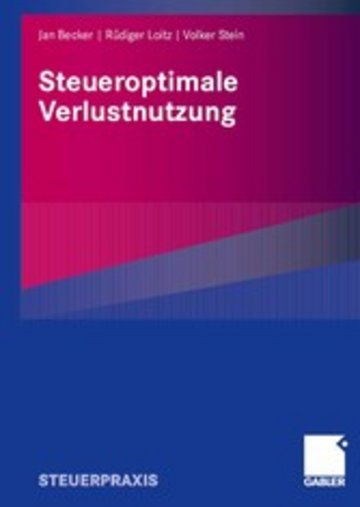 eBook Steueroptimale Verlustnutzung Cover