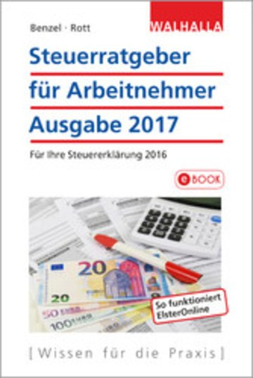 eBook Steuerratgeber für Arbeitnehmer Cover