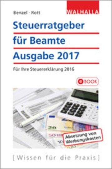 eBook Steuerratgeber für Beamte Cover
