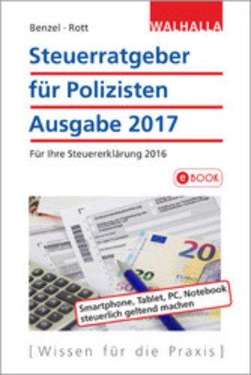 eBook Steuerratgeber für Polizisten Cover