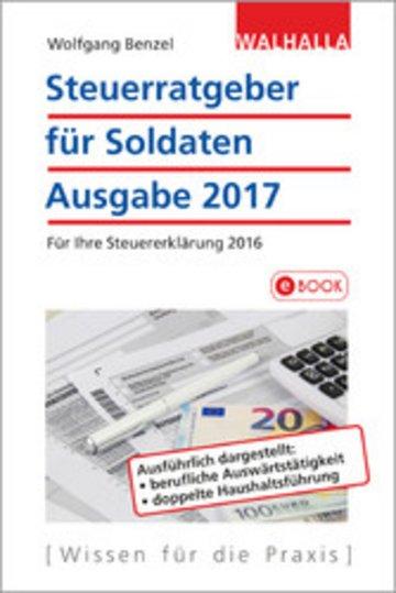 eBook Steuerratgeber für Soldaten Cover