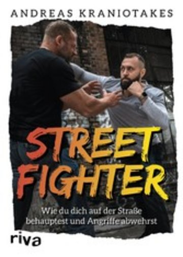 eBook Streetfighter Cover