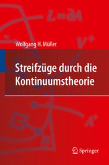 eBook Streifzüge durch die Kontinuumstheorie Cover
