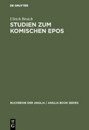 eBook Studien zum komischen Epos Cover