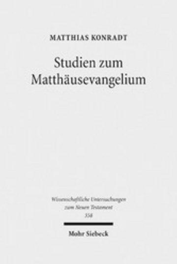eBook Studien zum Matthäusevangelium Cover