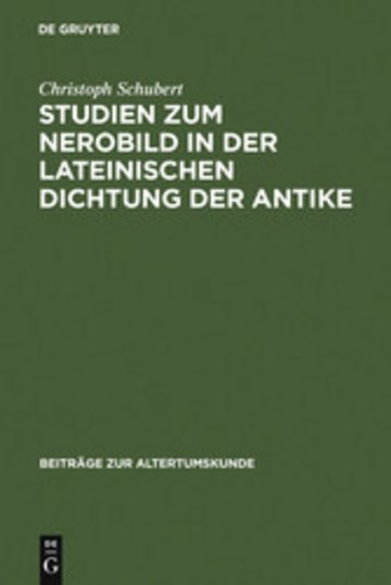 eBook Studien zum Nerobild in der lateinischen Dichtung der Antike Cover