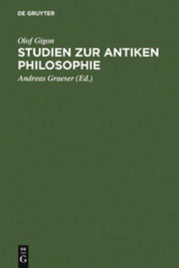 eBook Studien zur antiken Philosophie Cover