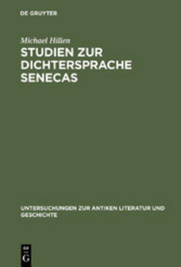 eBook Studien zur Dichtersprache Senecas Cover