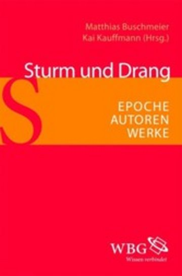 eBook Sturm und Drang Cover