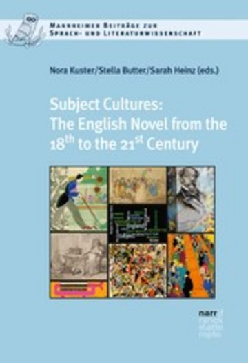 eBook Subject Cultures: The English Novel from the 18th to the 21st Century Cover