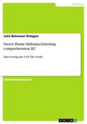 eBook Sweet Home Alabama-Listening comprehension B2 Cover