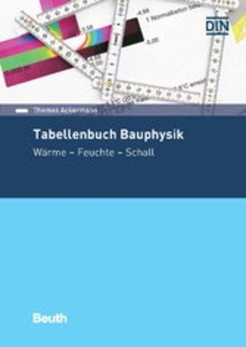 eBook Tabellenbuch Bauphysik Cover