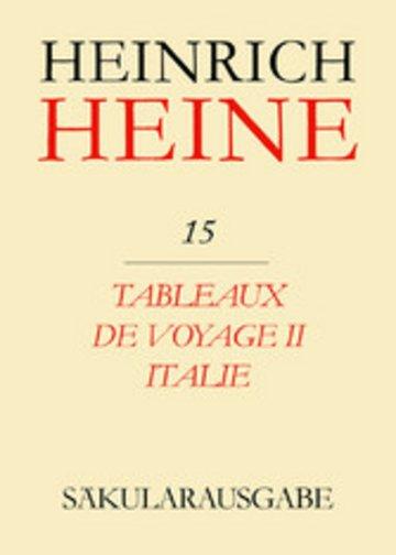 eBook Tableaux de voyage II. Italie Cover