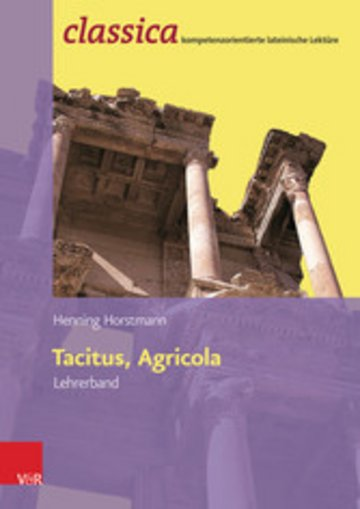eBook Tacitus, Agricola - Lehrerband Cover