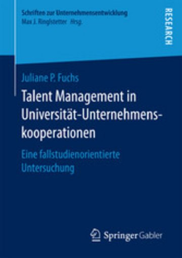 eBook Talent Management in Universität-Unternehmenskooperationen Cover