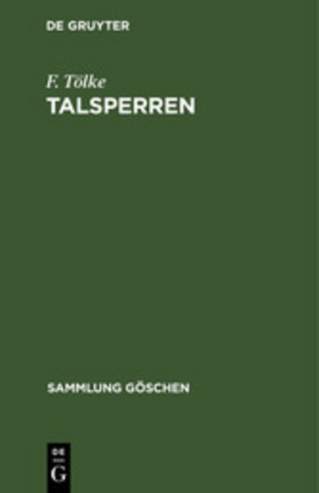 eBook Talsperren Cover