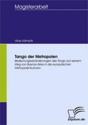 eBook Tango der Metropolen Cover
