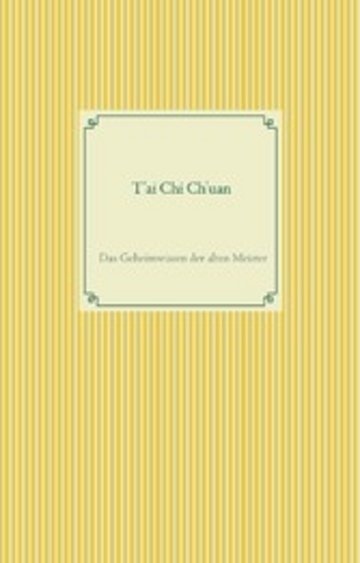 eBook T'ai Chi Ch'uan Cover