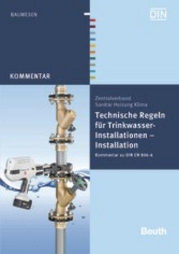eBook Technische Regeln für Trinkwasser-Installationen Cover