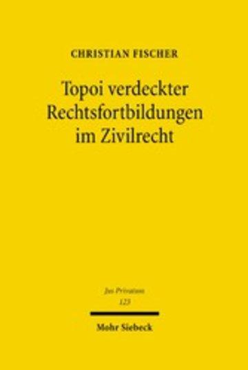 eBook Topoi verdeckter Rechtsfortbildungen im Zivilrecht Cover