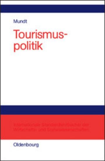 eBook Tourismuspolitik Cover