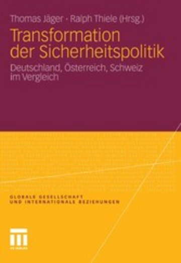 eBook Transformation der Sicherheitspolitik Cover