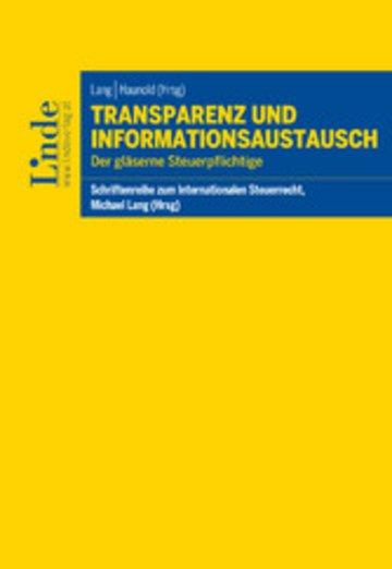 eBook Transparenz und Informationsaustausch Cover