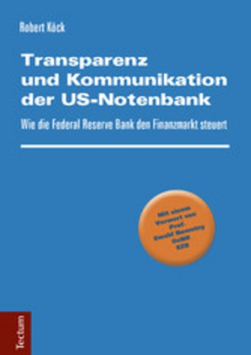 eBook Transparenz und Kommunikation der US-Notenbank Cover