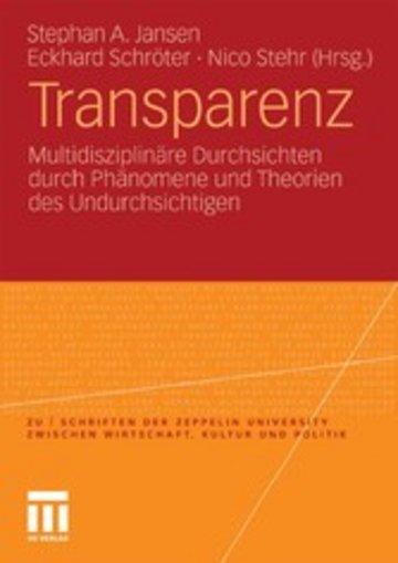 eBook Transparenz Cover