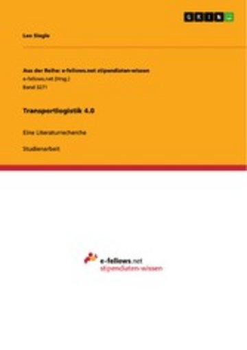 eBook Transportlogistik 4.0 Cover