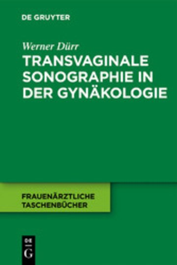 eBook Transvaginale Sonographie in der Gynäkologie Cover