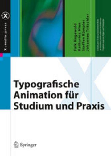 eBook Typografische Animation für Studium und Praxis Cover