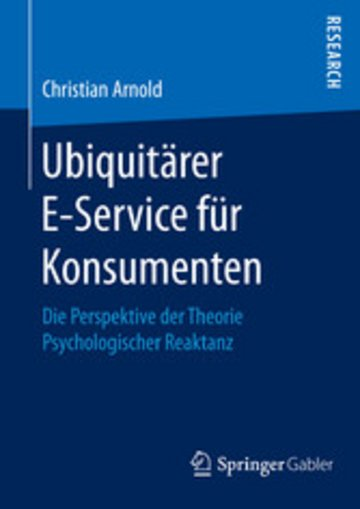 eBook Ubiquitärer E-Service für Konsumenten Cover