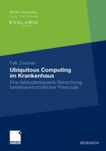 eBook Ubiquitous Computing im Krankenhaus Cover