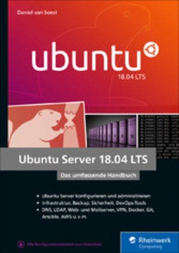 eBook Ubuntu Server 18.04 LTS Cover
