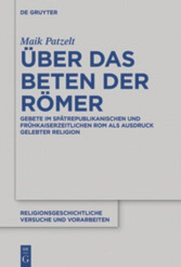 eBook Über das Beten der Römer Cover