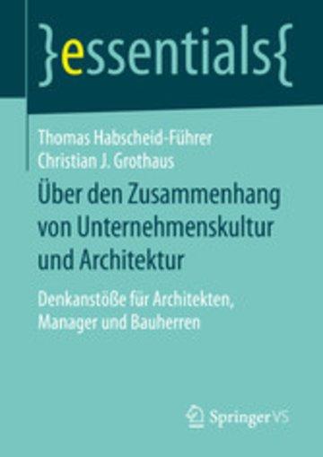 eBook Über den Zusammenhang von Unternehmenskultur und Architektur Cover