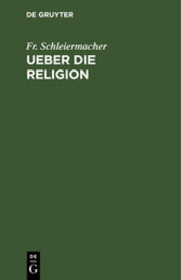 eBook Ueber die Religion Cover