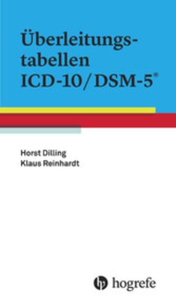 eBook Überleitungstabellen ICD-10/DSM-5® Cover