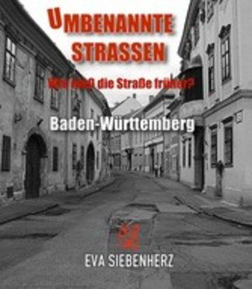 eBook Umbenannte Straßen in Baden-Württemberg Cover