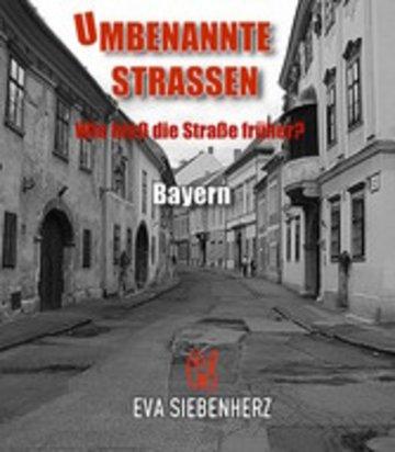 eBook Umbenannte Straßen in Bayern Cover