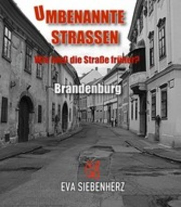 eBook Umbenannte Straßen in Brandenburg Cover