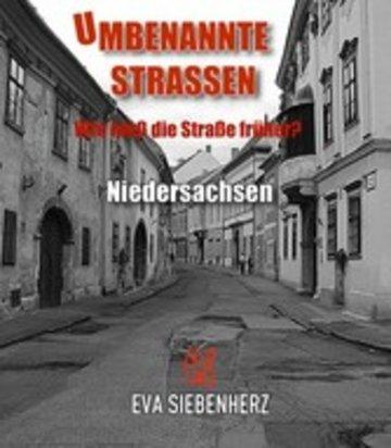 eBook Umbenannte Straßen in Niedersachsen Cover