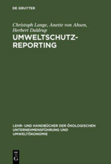 eBook Umweltschutz-Reporting Cover