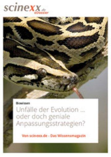 eBook Unfälle der Evolution Cover